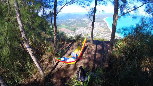 ENO hammock with a view in Hawaii