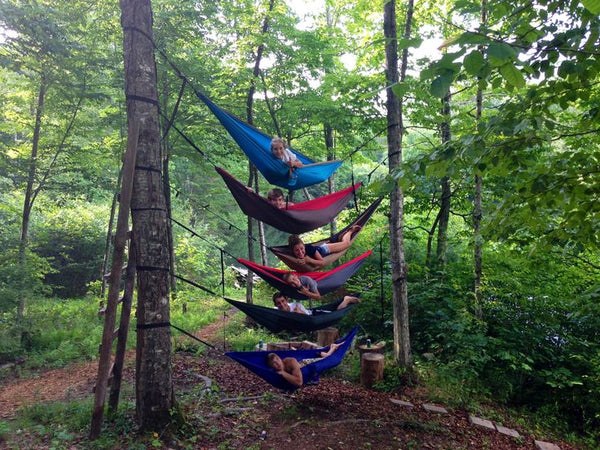 Stacked ENO Hammocks