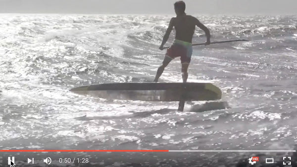 Kai Lenny makes SUP downwind foiling look easy