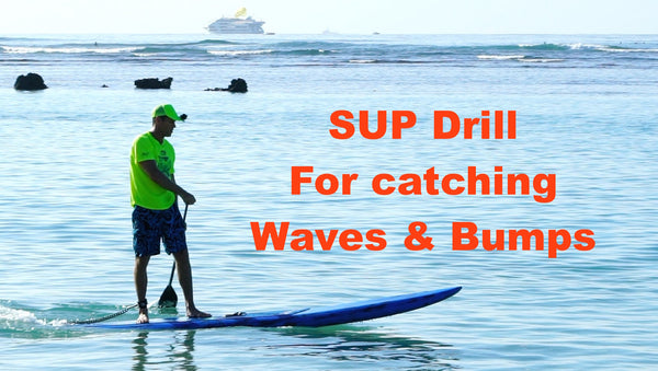 SUP Downwind drill Robert Stehlik