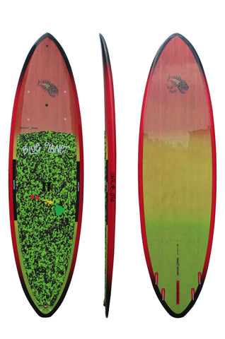 Blue Planet 10'4 x 34 Booster SUP Rasta Tint