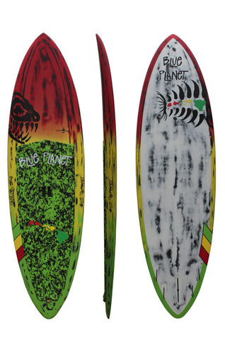 Blue Planet 9'2 x 30 Ninja Chief Carbon Rasta SUP 2016