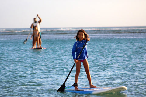 Paddleboard lesson Oahu Hawaii