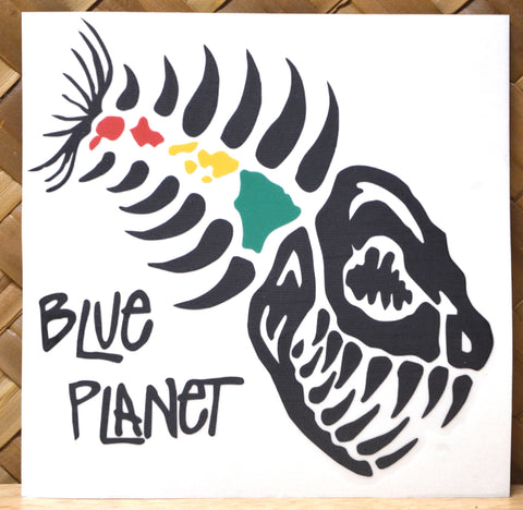 Blue Planet Vinyl Dye-Cut Stickers Medium