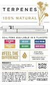 CBD Disposable Terpene 50MG Pen - Pineapple Express
