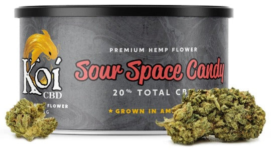 Koi Premium Flower - Sour Space Candy