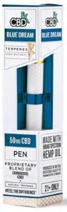 CBD Disposable Terpene 50MG Pen - Blue Dream