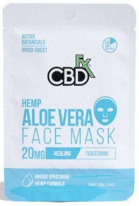 CBD ALOE Face Mask