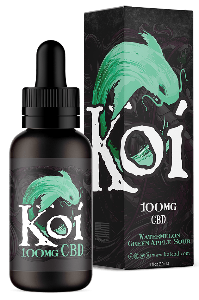 Koi CBD Vape Juice 100mg - Watermelon Green Apple Sour