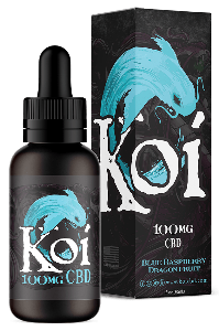 Koi CBD Vape Juice 100mg - Blue Raspberry Dragon Fruit