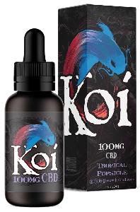 Koi CBD Vape Juice 100mg - Tropical Popsicle