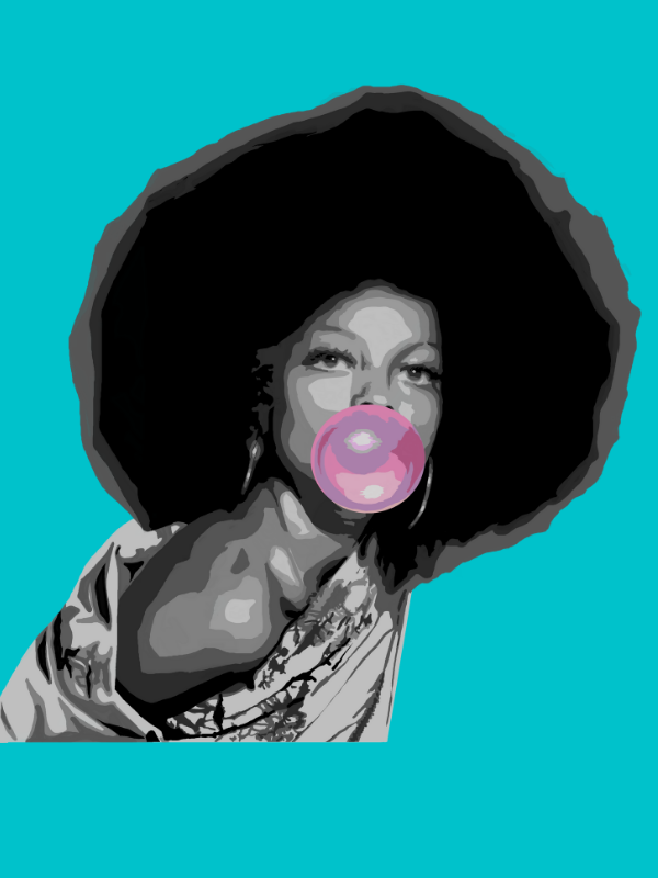 Diana Ross Collection - [Paint By Numbers]- paintitoff