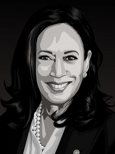 Kamala Harris for VP - [Paint By Numbers]- paintitoff
