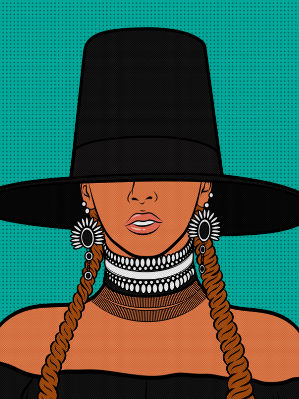 Beyonce Collection - [Paint By Numbers]- paintitoff