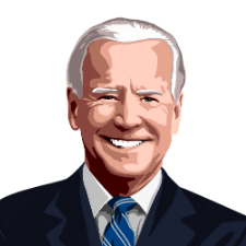 Joe Biden for President - [Paint By Numbers]- Paint It Off by Stella and Bobbie