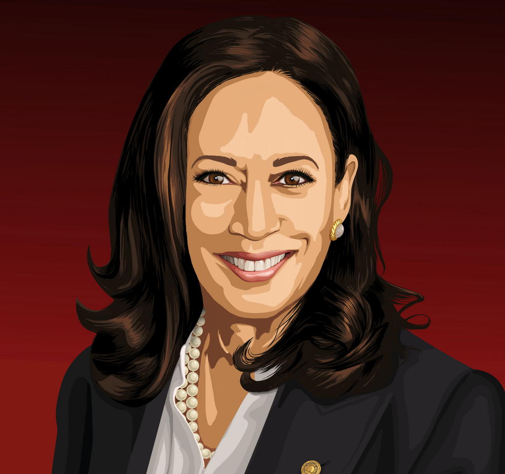 Vice President Kamala Harris - [Paint By Numbers]- Paint It Off by Stella and Bobbie