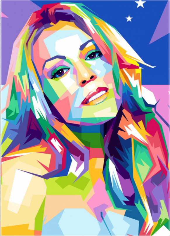 Pop Art Collection - [Paint By Numbers]- Paint It Off by Stella and Bobbie