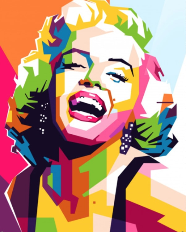 Marilyn Monroe - [Paint By Numbers]- Paint It Off by Stella and Bobbie