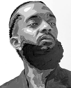 Nipsey Hussle Collection - [Paint By Numbers]- paintitoff