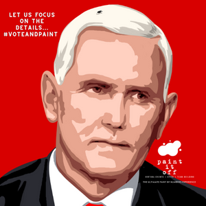 VP Mike Pence - [Paint By Numbers]- paintitoff