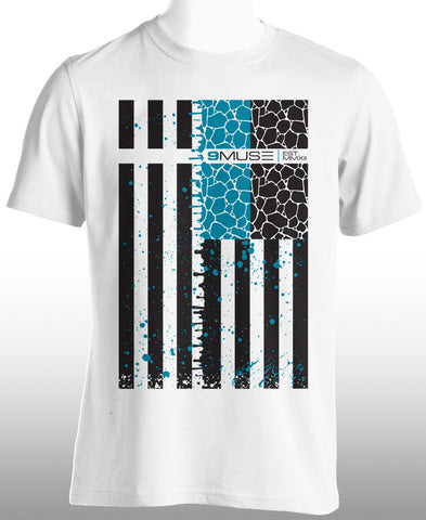 New #9MUSE Flag Tee