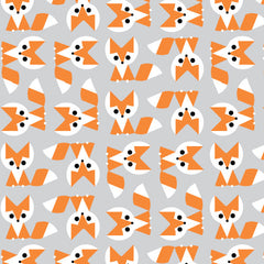 1/2 Yd - Fox 100% Organic Cotton Fabric