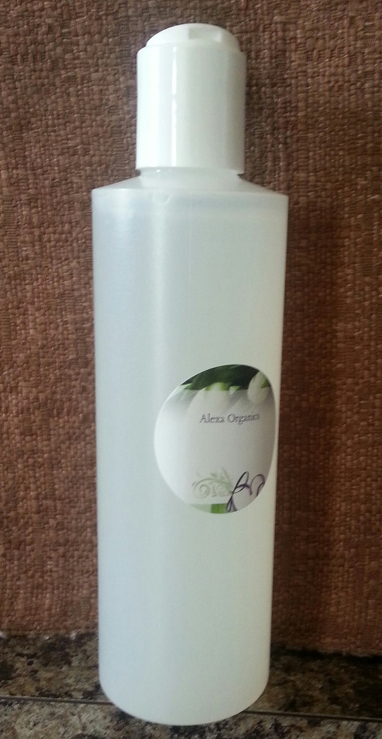 natural organic aloe vera leaf gel