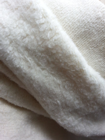 Organic Cotton Sherpa - 1 Yard