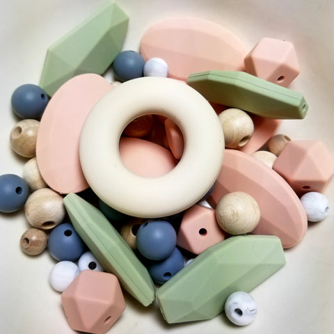 alexa organics usa food grade silicone and maple wood bead set for diy nursing teething necklace tutorial