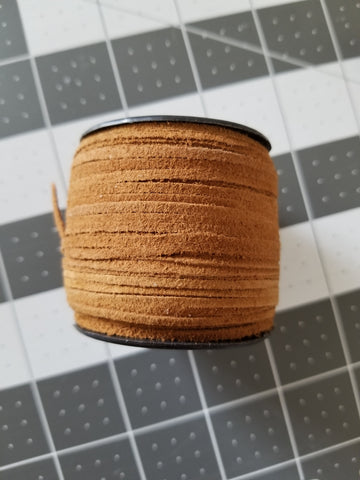 50 Meter Spool Suede Lace 2.0mm