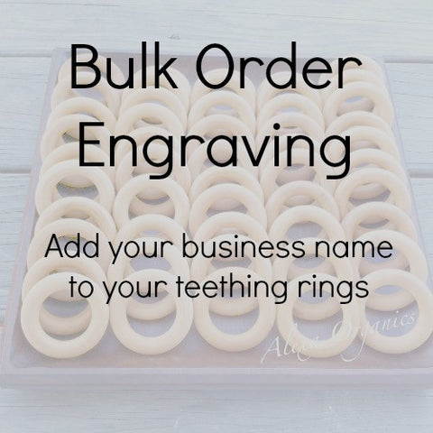 Bulk Order Engraving Option