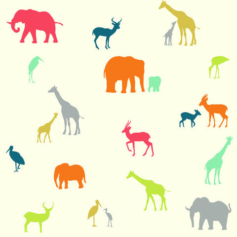 1/2 Yd - The Tribe 100% Organic Cotton Fabric