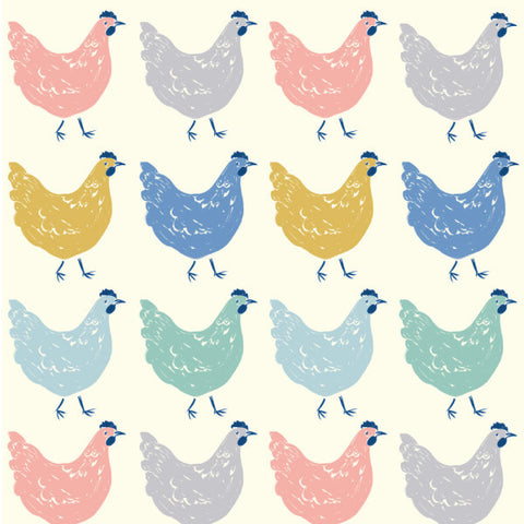 1/2 Yd - Roost 100% Organic Cotton Fabric