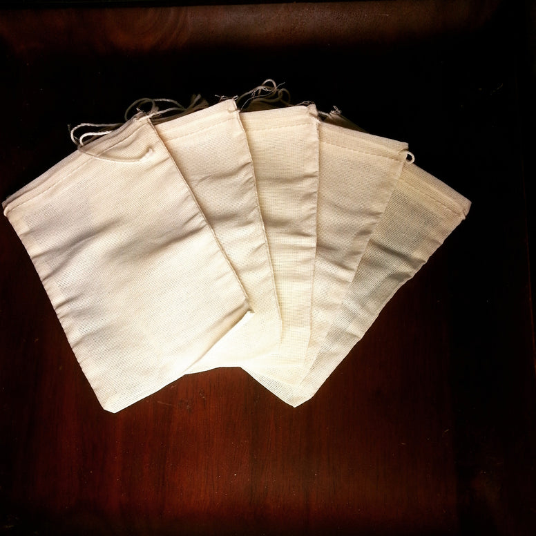 large organic cotton muslin drawstring bags all natural unbleached