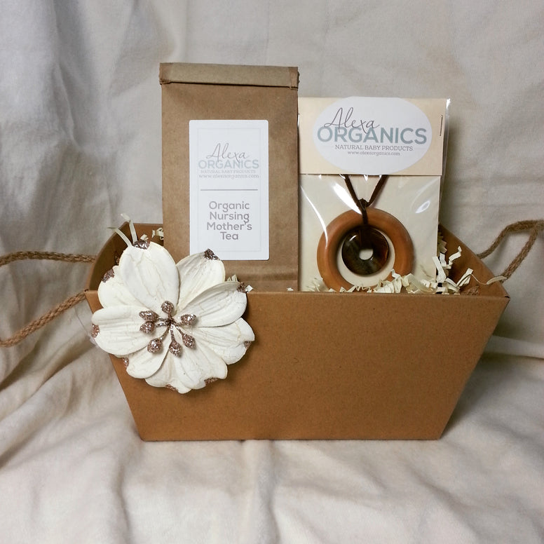 Nursing Tea & Necklace Gift Set