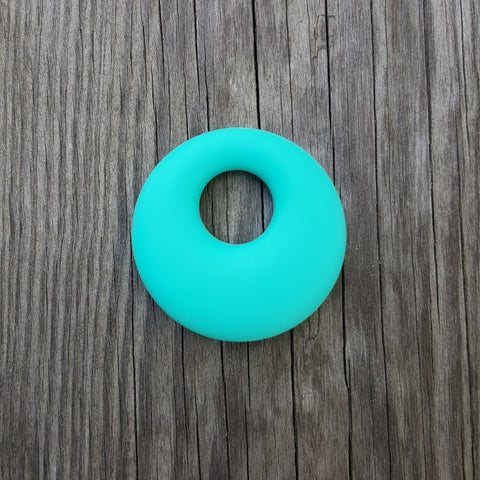 Turquoise Silicone Ring Pendant