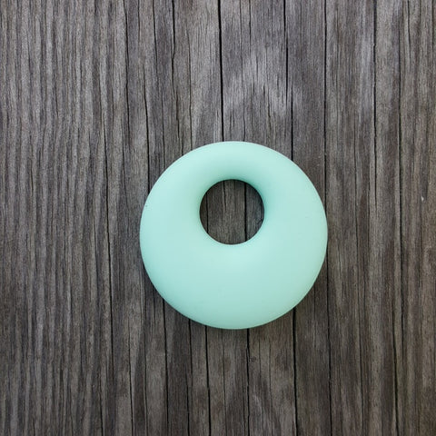 Mint Silicone Ring Pendant