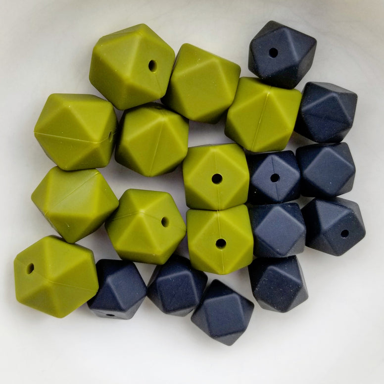 20-pc Mini and Regular Hexagon Bead Set