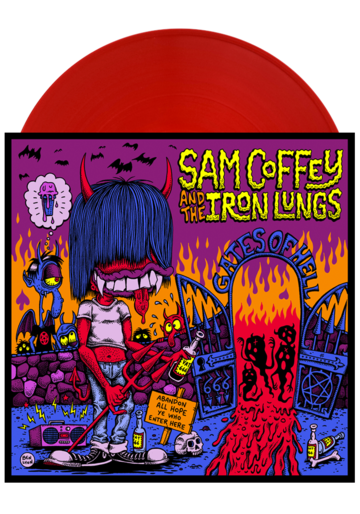 Sam Coffey & The Iron Lungs Gates of Hell Album