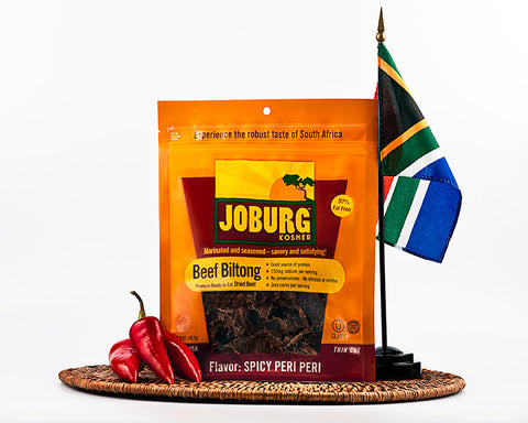 Beef Biltong and Beef Jerky