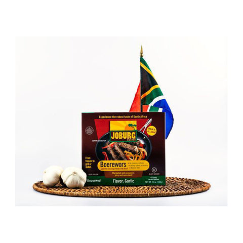 Boerewors 12oz (4 links, 3oz each)