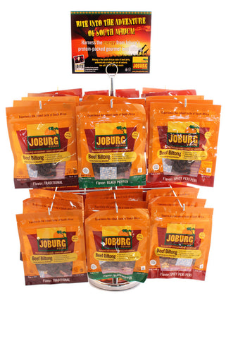 Biltong Travel Pack (12/2oz)