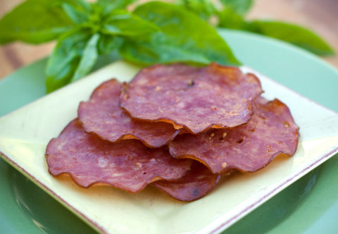 Old World Beef Salami (Dried) Whole or Sliced