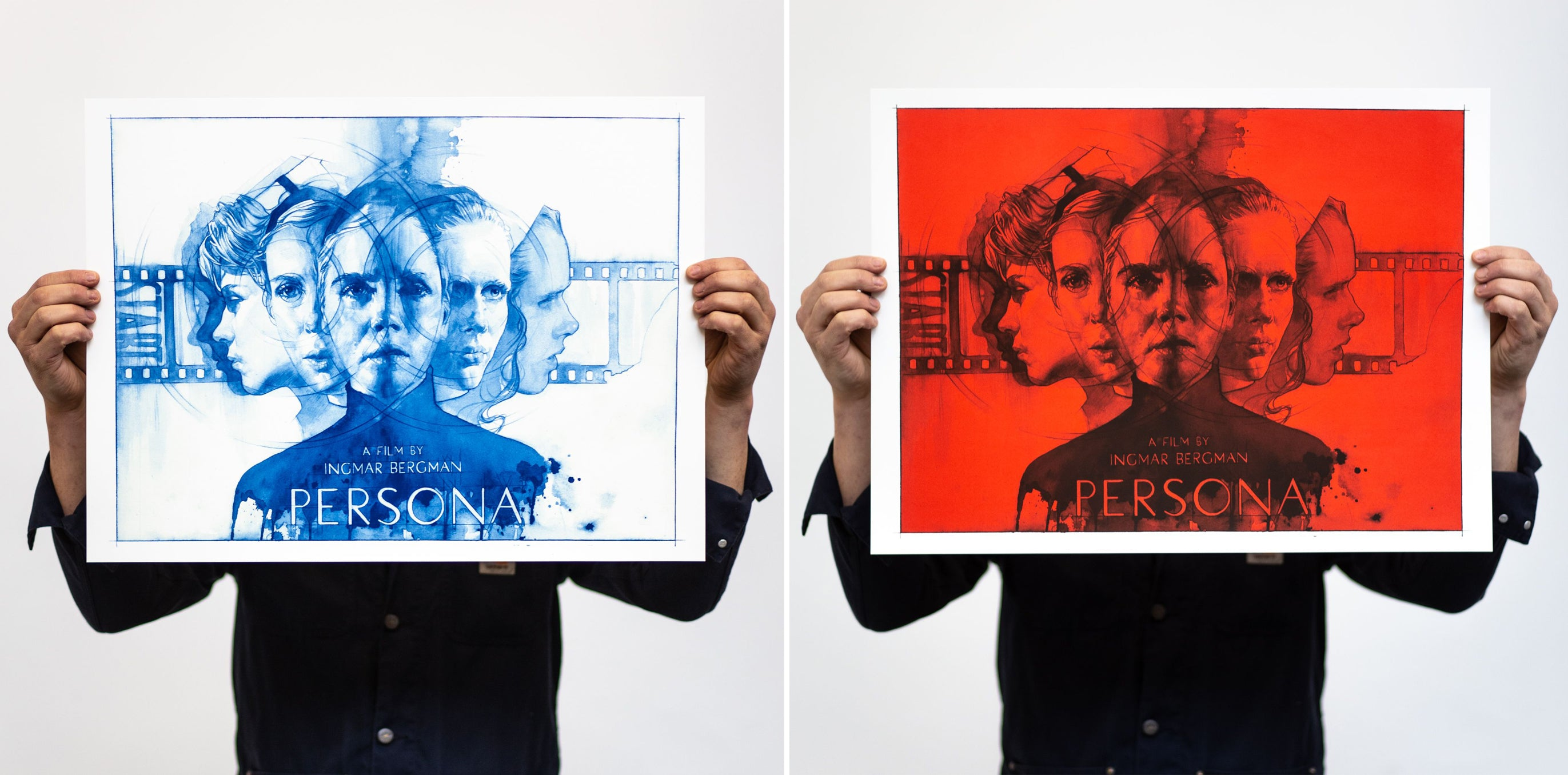 Persona by the exquisite hand of James Martin. Screen Printed by White Duck Editions