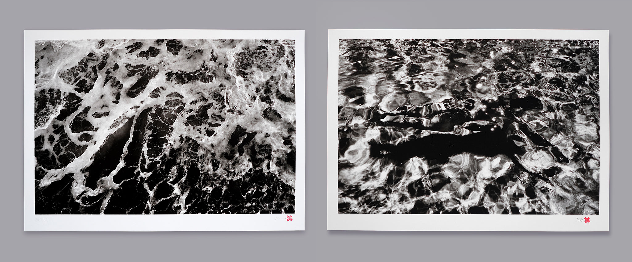 Rebecca Cleal Water Editions Screen Printed at White Duck Editions