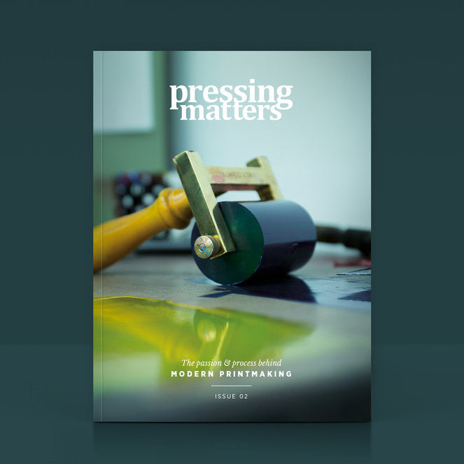 Pressing Matters #02 - White Duck Editions - Limited Edition Art & Screen Print