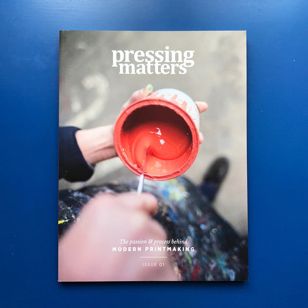 Pressing Matters #01 - White Duck Editions - Limited Edition Art & Screen Print