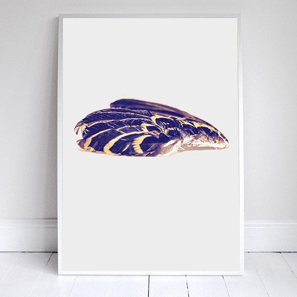 Rebecca Cleal - Wing - White Duck Editions - Limited Edition Art & Screen Print