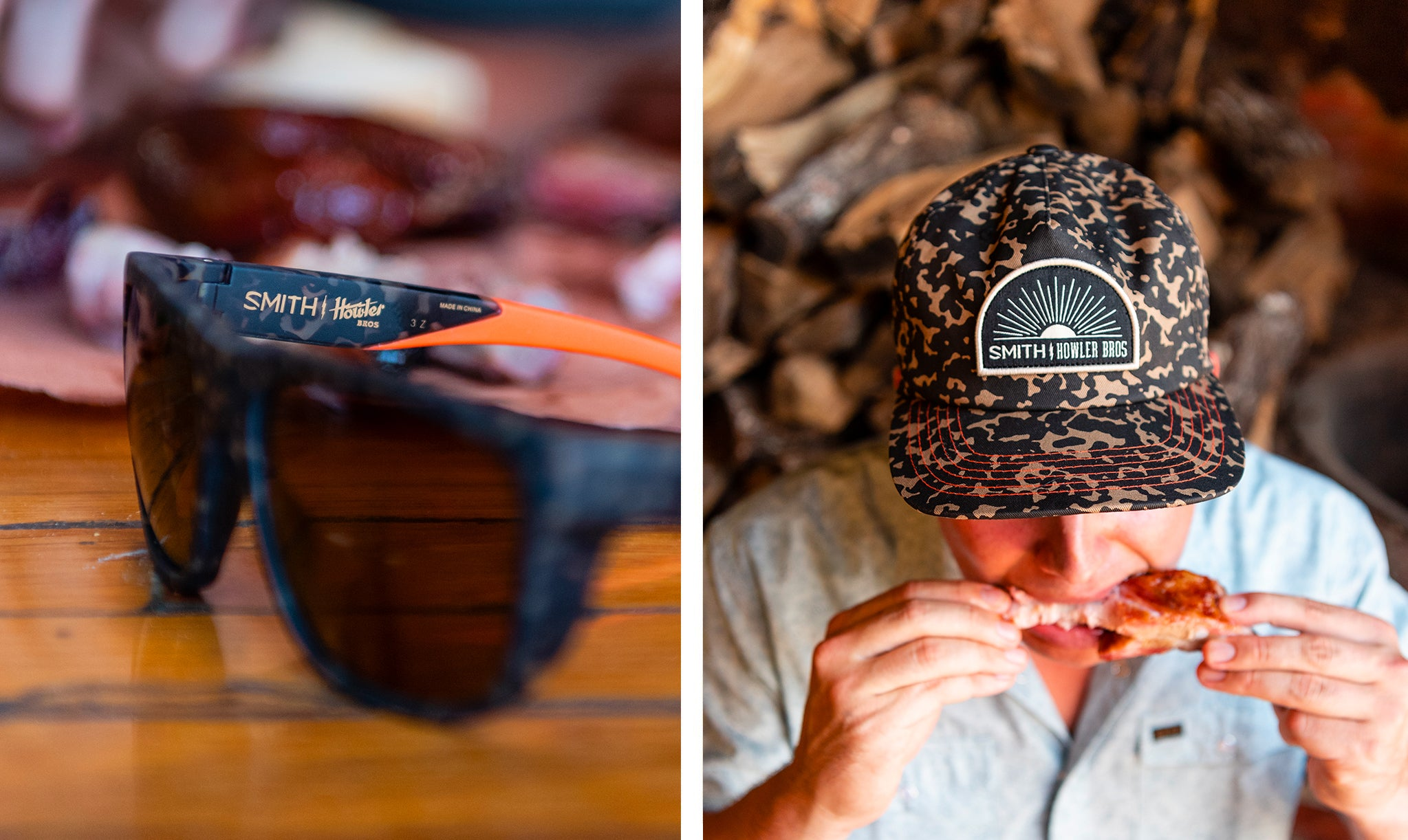 1f7fcde4 This year we put our mutual spin on their Barra and Outback frames and then  laid the very same custom Tortoise Print on our Mansfield Shirt, Snapback  Hat ...