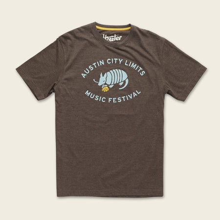 Armadillo & Yellow Rose Line Up T-Shirt